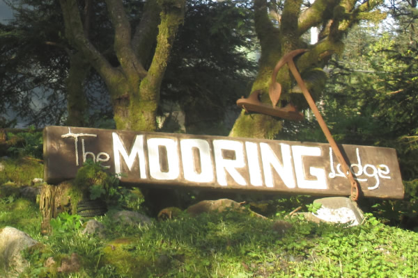 The Mooring Lodge welcomes you